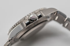 Rolex krönen Symbol auf Krone Lizenzfreies Stockbild