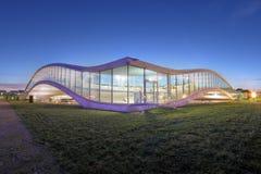 Rolex-Lernen-Mitte EPFL, Lausanne, die Schweiz Lizenzfreies Stockfoto