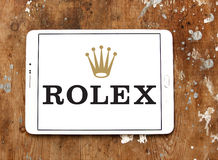 Rolex logo Royalty Free Stock Photos
