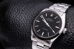 Rolex-Luxus-Armbanduhr stockbild