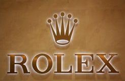 Rolex marca Fotografia de Stock Royalty Free