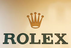 Rolex marca Imagem de Stock
