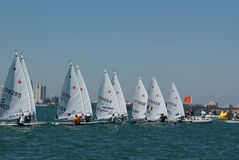 Rolex Miami OCR, Laser Radial Start Stock Photography