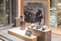 Rolex przechuje przy Filadelfia Rolex SA jest Szwajcarskim luksusowym zegarmistrzem Ja jest wielkim pojedynczym luksusowym zegark Zdjęcia Stock
