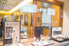 Rolex przechuje przy Filadelfia Rolex SA jest Szwajcarskim luksusowym zegarmistrzem Ja jest wielkim pojedynczym luksusowym zegark Obraz Stock