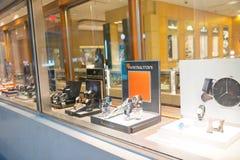 Rolex przechuje przy Filadelfia Rolex SA jest Szwajcarskim luksusowym zegarmistrzem Ja jest wielkim pojedynczym luksusowym zegark Obrazy Stock