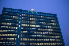 Rolex SA kwatery główne w Genewa obrazy stock