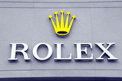 Rolex shop Stock Photos