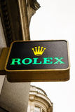 Rolex store Stock Image