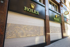 Rolex store Royalty Free Stock Images