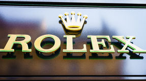Rolex store Stock Photos