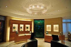 Rolex store i Stock Photography