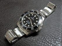 Rolex submariner, καμία ημερομηνία, ρολόι Στοκ φωτογραφίες με δικαίωμα ελεύθερης χρήσης