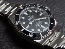 Rolex submariner, καμία ημερομηνία, ρολόι Στοκ Φωτογραφίες