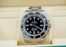 Rolex submariner, no date, watch Royalty Free Stock Images