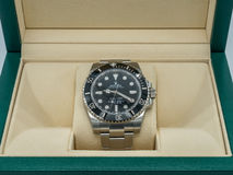 Rolex submariner, no date, watch Royalty Free Stock Photo