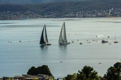 2015 Rolex Sydney aan Hobart Yacht Race Royalty-vrije Stock Afbeelding