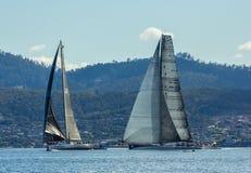 Rolex 2015 Sydney a Hobart Yacht Race Fotos de Stock