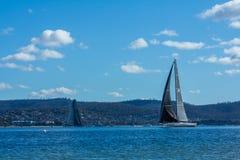 Rolex 2015 Sydney zu Hobart Yacht Race Lizenzfreies Stockfoto