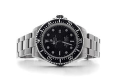 ROLEX wristwatch Stock Images