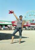 rolig ö New York för coney arkivfoton