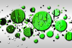 Rolig bild för abstrakt illustration för färgdesignkonst Arkivfoto