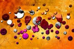 Rolig bild för abstrakt illustration för färgdesignkonst Royaltyfri Bild