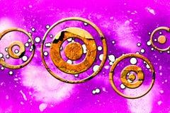 Rolig bild för abstrakt illustration för färgdesignkonst Arkivfoton
