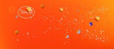 Rolig bred utrymmebakgrund för abstrakt begrepp ultra royaltyfri illustrationer
