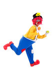 rolig clown Arkivfoto