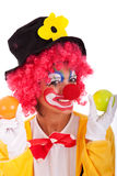 rolig clown Royaltyfri Foto
