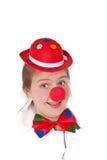 rolig clown Fotografering för Bildbyråer