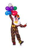 Rolig clown Royaltyfri Fotografi