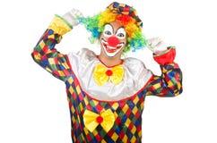 Rolig clown royaltyfria bilder