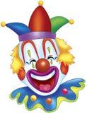 rolig clown Arkivfoton