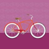 Rolig cykel Royaltyfri Bild