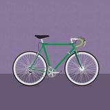 Rolig cykel Arkivfoto