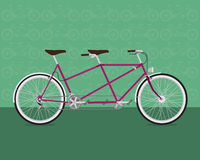 Rolig cykel Royaltyfri Fotografi
