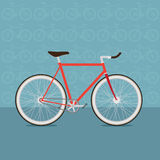 Rolig cykel Arkivbild