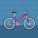 Rolig cykel Arkivfoton