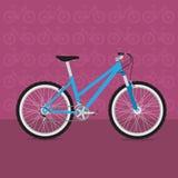 Rolig cykel Royaltyfria Foton