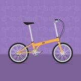 Rolig cykel Arkivbilder