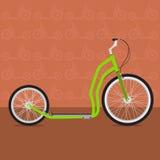 Rolig cykel Fotografering för Bildbyråer