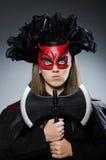 Rolig deveil i det halloween begreppet Royaltyfri Bild