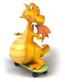 Rolig drake Arkivbild