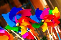Rolig färgrik rotator arkivbild