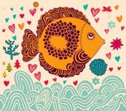 Rolig fisk Royaltyfria Foton
