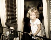 rolig flicka little Royaltyfria Foton