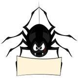 Rolig freaky spindel Arkivfoton