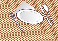 rolig guinealunch för bakgrund över white för pigståendetid Arkivfoton